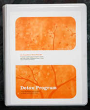 A picture of the front cover for Dr. Hull's 10-Steps To Detoxification Program